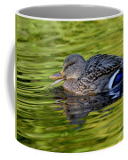 Quack Coffee Mug by Sharon Talson