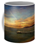 Queen Of The Welsh Resorts Coffee Mug by Adrian Evans