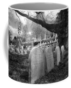 Quiet Cemetery Coffee Mug by Jennifer Ancker