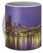 Radiant City Coffee Mug by Evelina Kremsdorf