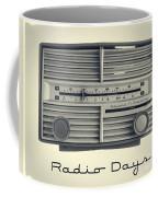 Radio Days Coffee Mug by Edward Fielding