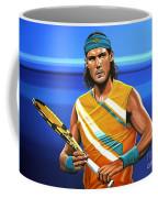 Rafael Nadal Coffee Mug by Paul Meijering