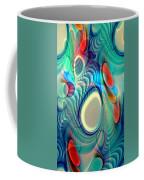 Rainbow Play Coffee Mug by Anastasiya Malakhova