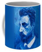 Rainer Maria Rilke Coffee Mug by Sviatoslav Alexakhin