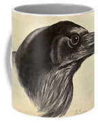 Raven Coffee Mug by Philip Ralley