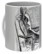 Reaching Out Coffee Mug by Kendall Kessler