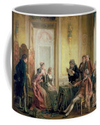 Reading The Will Coffee Mug by Otto Erdmann