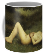 Reclining Nude Coffee Mug by Louis Courtat
