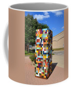Reconstructing Fences Coffee Mug by Michelle Calkins