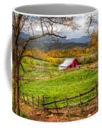 Red Barn Coffee Mug by Debra and Dave Vanderlaan