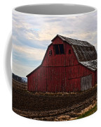 Red Barn Photoart Coffee Mug by Debbie Portwood