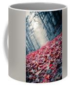 Red Carpet Coffee Mug by Edward Fielding