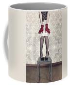 Red Gloves Coffee Mug by Joana Kruse