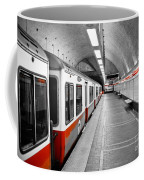 Red Line Coffee Mug by Charles Dobbs