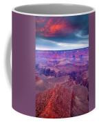Red Rock Dusk Coffee Mug by Mike  Dawson