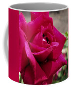 Red Rose Up Close Coffee Mug by Thomas Woolworth