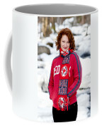 Red Sox Girl Coffee Mug by Greg Fortier