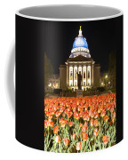 Red White And Blue Coffee Mug by Steven Ralser