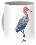 Reddish Egret Coffee Mug by Anonymous