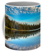Relaxing On The Lake Coffee Mug by Robert Bales