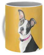 Rescued Pit Bull Coffee Mug by Jeanne Fischer