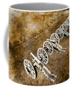 Revolutionary War Cannons Coffee Mug by Olivier Le Queinec