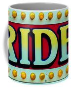 Rides Coffee Mug by Skip Willits