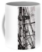 Rigging Coffee Mug by Olivier Le Queinec
