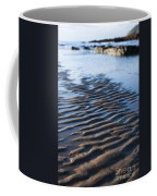Ripples In The Sand Coffee Mug by Anne Gilbert