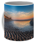 Ripples In The Sand Coffee Mug by Debra and Dave Vanderlaan