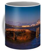 Riverside Wreck Coffee Mug by Dawn OConnor