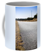 Road Edge Coffee Mug by Tim Hester