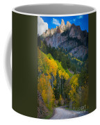 Road To Silver Mountain Coffee Mug by Inge Johnsson