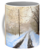 Road To The Ice House Coffee Mug by Jack Skinner