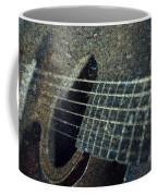 Rock Guitar Coffee Mug by Photographic Arts And Design Studio