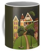 Rose Hill Lane Coffee Mug by Catherine Holman