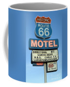 Route 66 Motel Sign 3 Coffee Mug by Bob Christopher