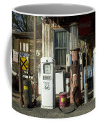 Route 66 Pumps Coffee Mug by Bob Christopher