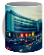 Rush Hour - Vintage Coffee Mug by Hannes Cmarits