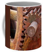 Rusty Metal Gears Coffee Mug by Phyllis Denton