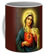 Sacred Heart Coffee Mug by Unknown
