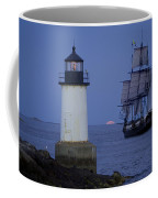 Sailing Out For The Red Moon Coffee Mug by Jeff Folger