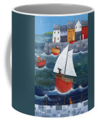 Sailor Dog Coffee Mug by Peter Adderley
