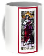 Saint John The Evangelist Stained Glass Window Coffee Mug by Rose Santuci-Sofranko