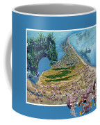 Sam And Topsail's Ghost Pirates  Coffee Mug by Betsy Knapp