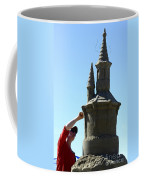 Sand Castle 1 Coffee Mug by Bob Christopher