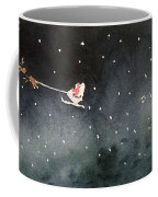 Santa Is Coming Coffee Mug by Yoshiko Mishina