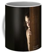 Scared Coffee Mug by Edward Fielding