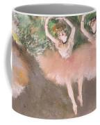 Scene De Ballet Coffee Mug by Edgar Degas
