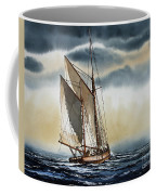 Schooner Coffee Mug by James Williamson